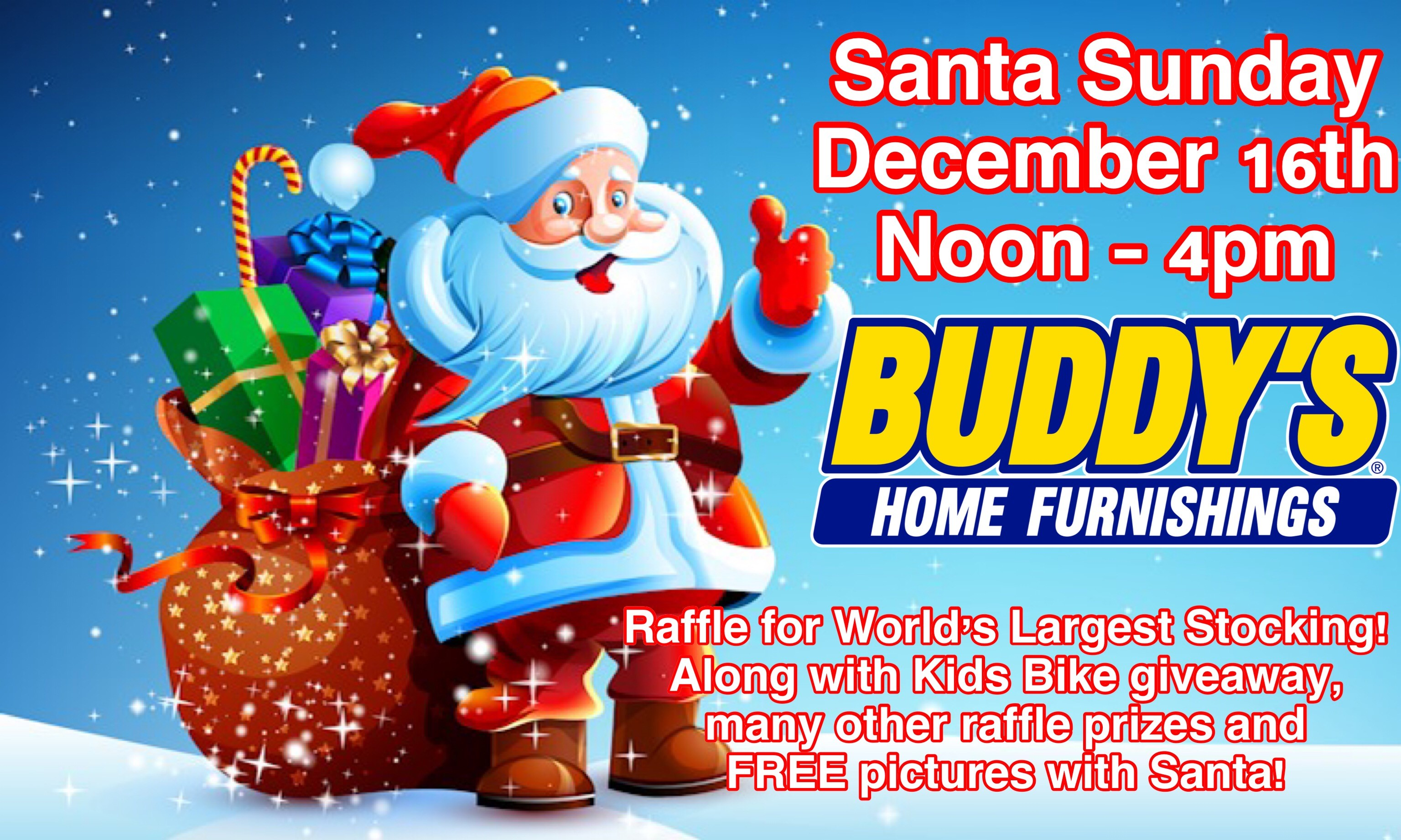 Santa Sunday At Buddy S Home Furnishings Kelso Longview Chamber Of