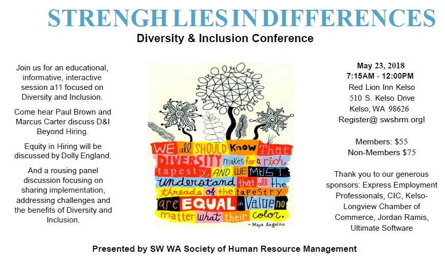 Strength Lies in Differences - Diversity & Inclusion