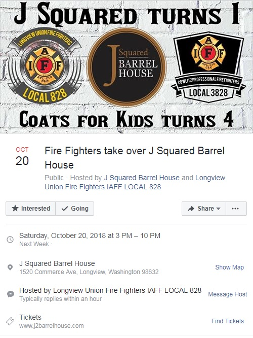 Firefighters Take Over J Squared Barrel House | Kelso