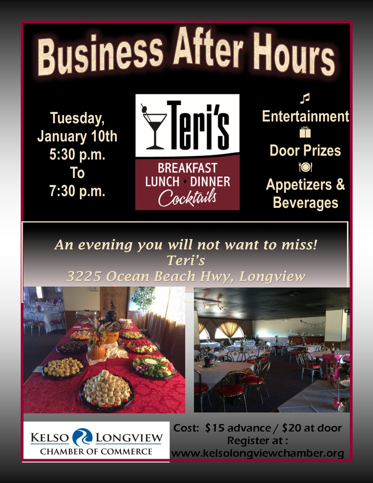 January 2017 Business After Hours Kelso Longview Chamber